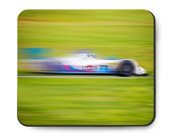Martini race car mouse pad, IMSA Prototype Challenge (PC), Oreca Chevrolet FLM09, Chevy racing