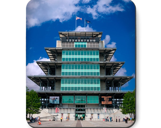 Featured listing image: Indianapolis Motor Speedway Pagoda Mouse Pad, Indy 500