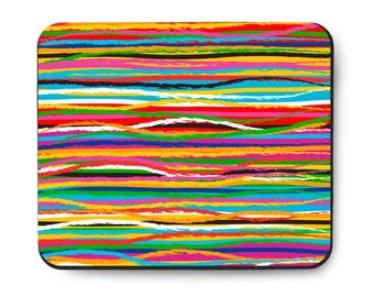 Threads Multicolor Designer Mousepad