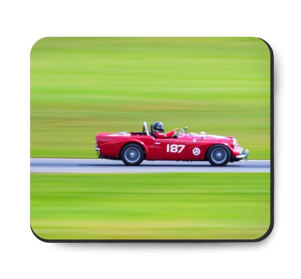 Daimler Dart SP250 Race Car Art, Mouse Pad, Vintage