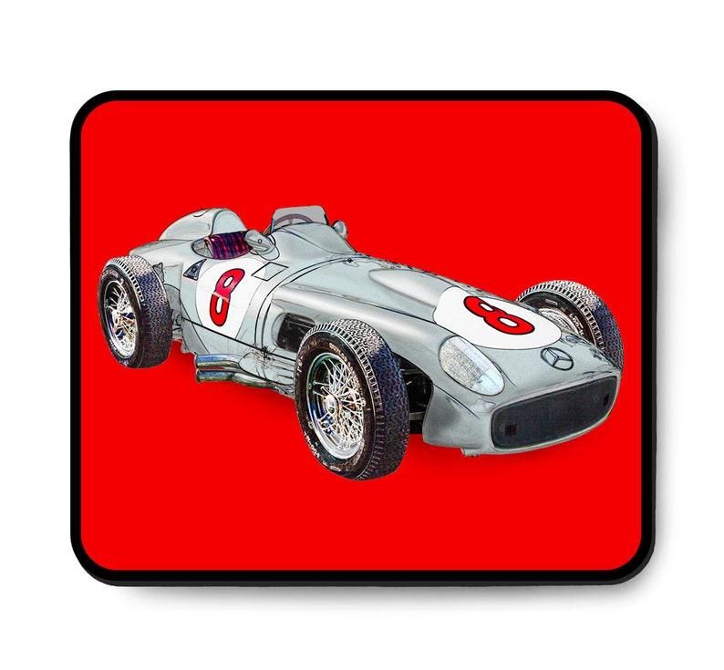 Mercedes-Benz race car mouse pad W196 R 1955 Formula One image 1
