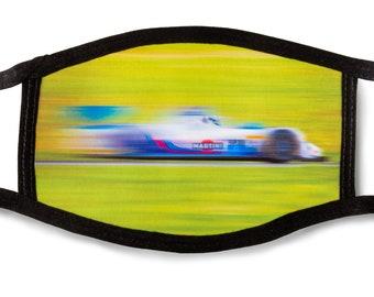 Face mask Martini race car IMSA Prototype Challenge, Oreca Chevrolet FLM09