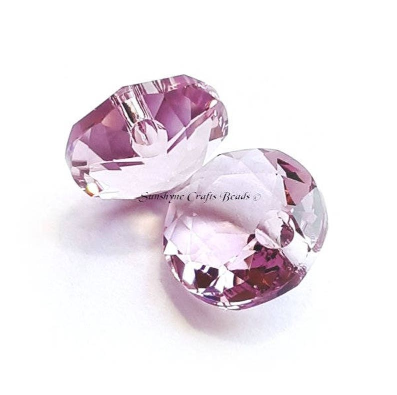 *** CLOSEOUT *** Swarovski Bicone Amethyst Crystals//Beads 6mm Loose 6 pieces