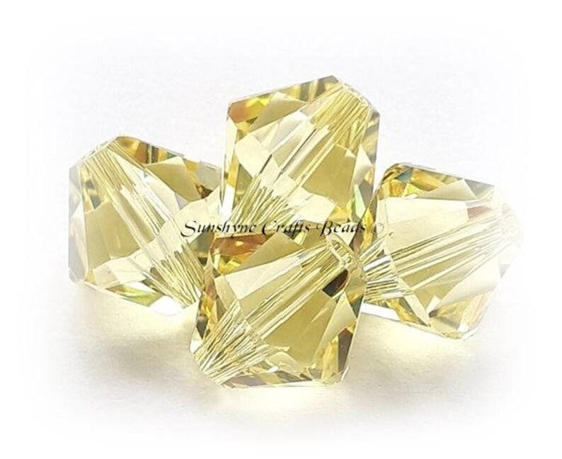 5328 Swarovski® Crystal Bicone Beads Jonquil