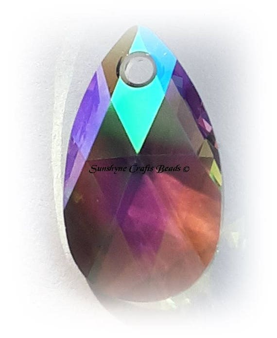 Swarovski Crystal Paradise Shine Baroque 6090 Pendant; 16mm or 22mm; DIY Jewelry