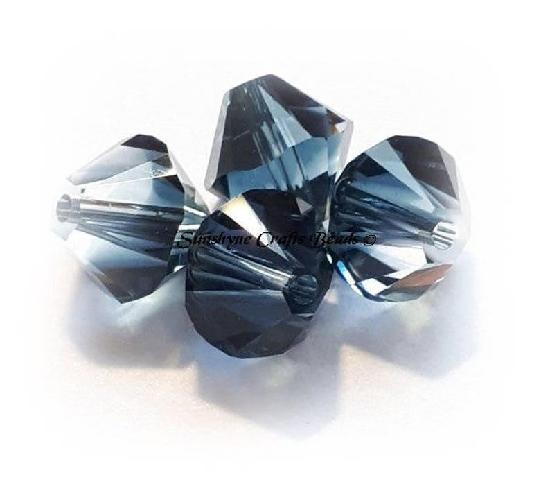 5328 Swarovski Crystal Bicone Crystal 48 PCS Approx 6mm
