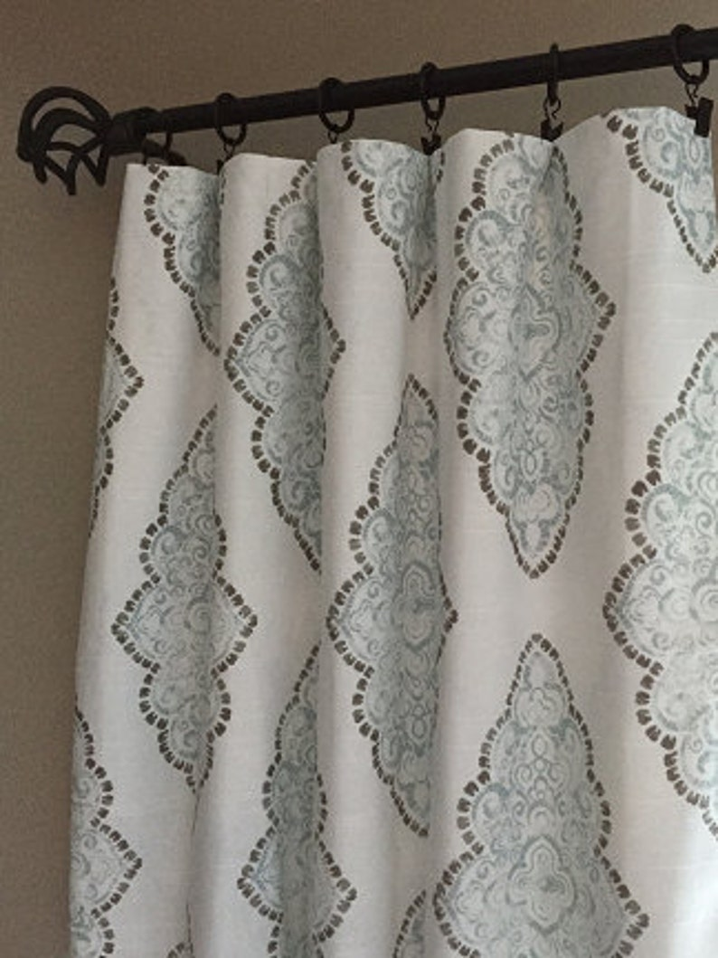 319e725fa5542 Drapery curtain panels, curtains, valances, drapery. Message me with custom  lengths widths not listed. Available with grommets.