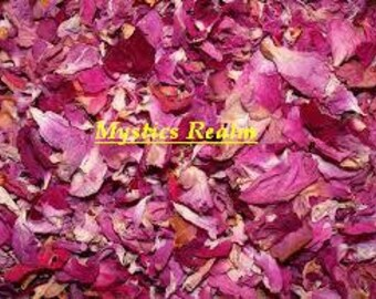 Red Rose Buds ~ 1/2 oz Dried Roses ~ Red Rose Petals Dried ~ Organic Red Roses ~ Witchcraft Supply ~ Herbal Alchemy ~ Red Roses ~ Dried Rose