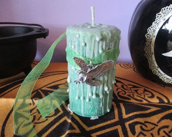 Air Candle ~ Wicca Elemental Candle ~ Witch's Candle ~ Witchcraft Candle ~ Elemental Candle ~ Ritual Candle ~ Altar Candle ~ Mystics Realm