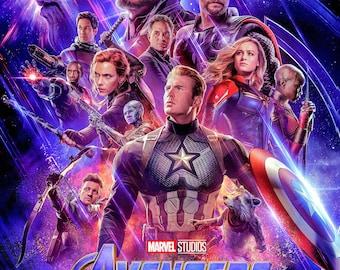 Avengers Endgame Poster Etsy