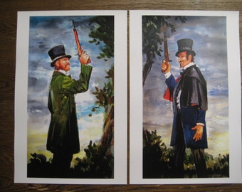 Haunted Mansion - Dueling Ghosts Painting Poster Prints