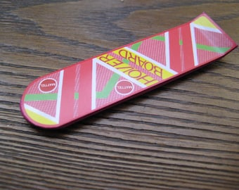 Back to the Future 2 - Hoverboard Fridge Magnet [ type 2 ]