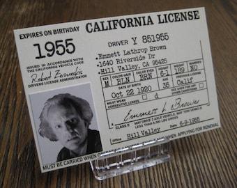 Back to the Future - Custom Made [ Doc Emmett Brown 1955 License ] B3G1F
