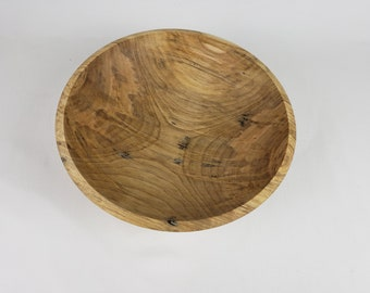 Small Red Maple/Ambrosia Maple Wooden Salad bowl