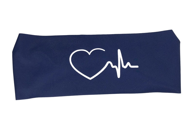 HEART Specialty SPANDEX HEADBAND to wear at work - Cardiologist, Heart  Doctor, Hospital, Health Clinic, Medical  In a variety of colors