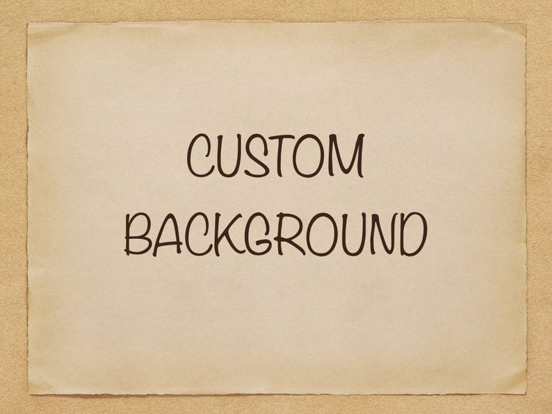 ADD ON  custom background extra payment add a custom image 0