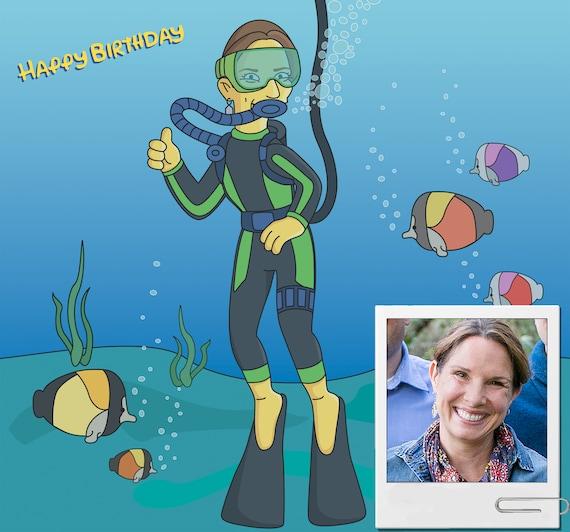 FB Scuba Diving Hoodie Manta Ray Novelty Birthday Christmas Gift Hoody Jumper