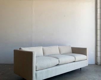Rare Harvey Probber Tuxedo sofa