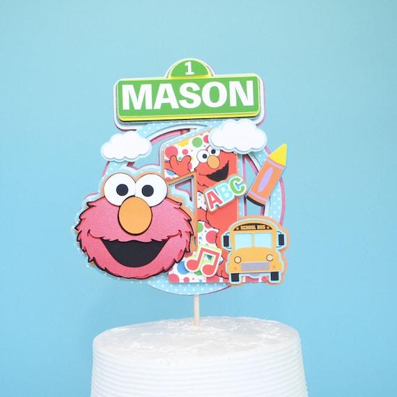 Elmo First Birthday Cake Topper Elmo Cake Elmo Birthday Party