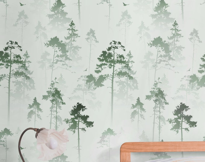 Green tree wallpaper, Trees wallpaper, forest wallpaper, wood wallpaper, tree wallpaper,