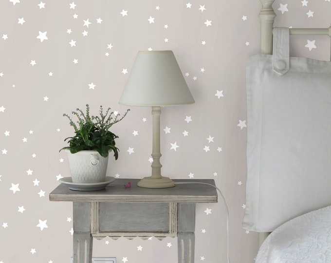 CUSTOM Stars wallpaper, Stars wall decor, stars, gold stars wall decor, metal stars wall decor, wallpaper of stars in sky