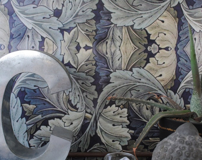 Art Nouveau, Vintage Wallpaper for Victorian Style Home Décor