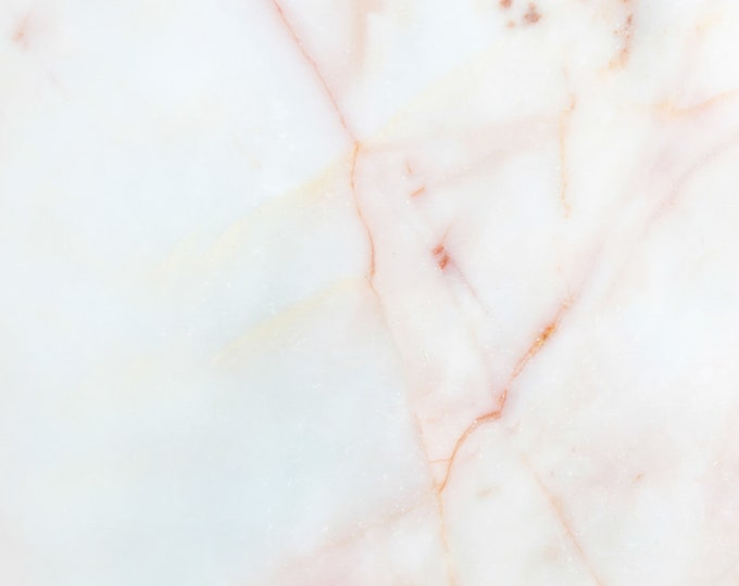 Blush Pink Marble Abstract Wallpaper for Baby Girl Nursery Décor