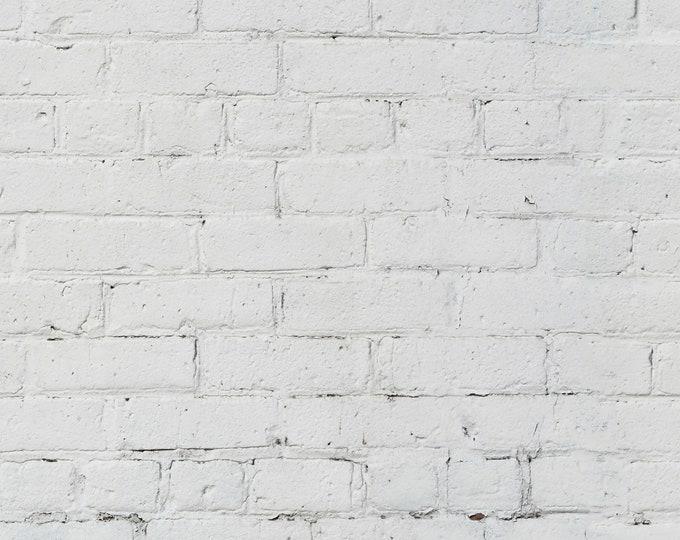 Clean White Brick Wallpaper, bricks wallpaper