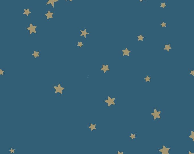 Gold Star Wallpaper, Baby Boy Nursery Wall Décor