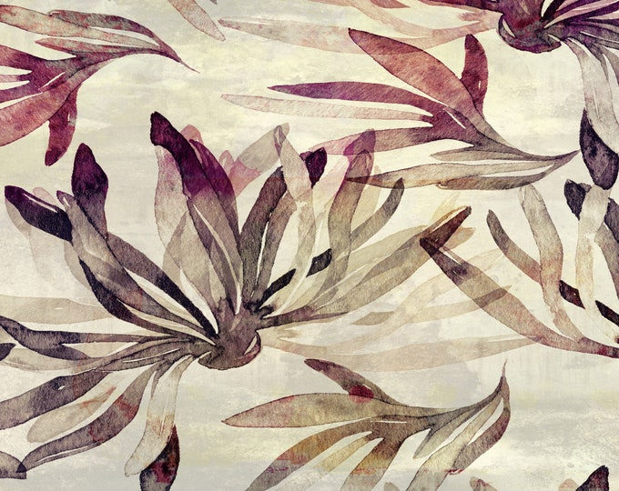 Seaweed Wallpaper, Coastal Decor Beach House
