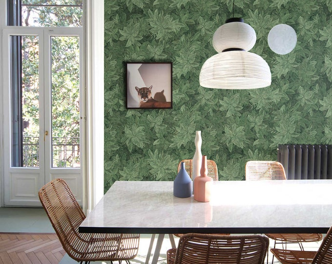 Hedge Wallpaper, Wallpaper, Wall Art, Kitchen Decor, Bedroom Decor, Kitchen Wall Decor, Wall Decor, Green Wall Paper, Green Wallpaper,