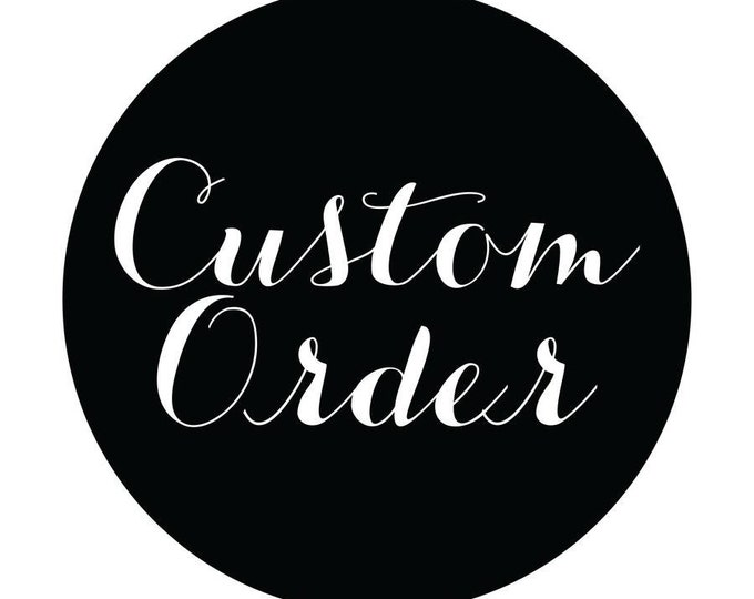 Custom Made Order of Personalized Wallpaper