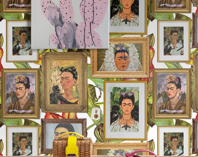 Frida Kahlo wallpaper, frida kahlo, frida, frida kahlo print, frida kahlo art, frida wall art, frida wall decor, frida kahlo wall art