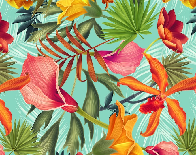 Balinese Tropical Wallpaper for Feature Wall