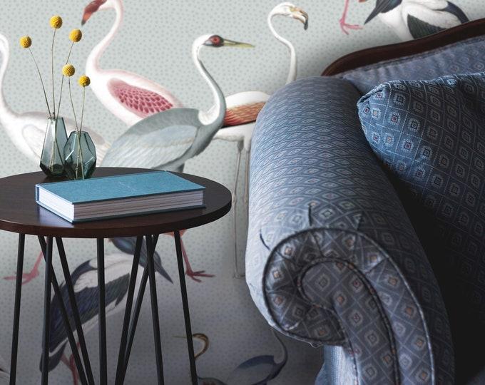 Elegant Birds Wallpaper, Wallpaper with Birds, tropical bird, bird wallpaper, tropical wallpaper, tropical, exotic wallpaper, birds wall