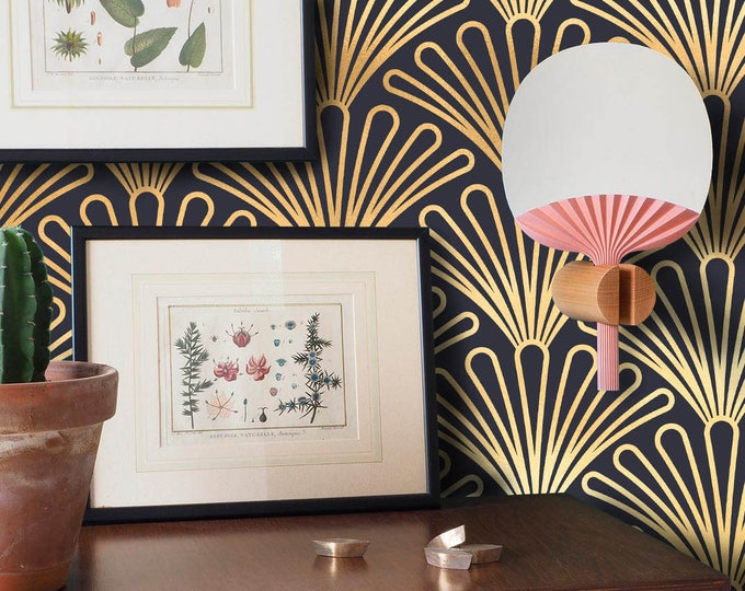 Art Deco Wallpaper, 1930s Vintage Wallpaper, retro wallpaper, removable wallpaper, vintage wallpaper, art deco wall, art deco, vintage