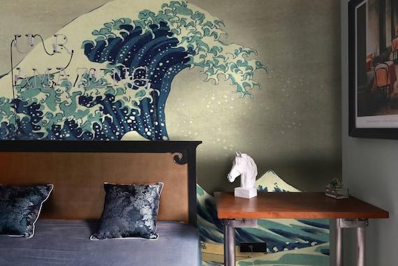 Great Wave Off Kanagawa Wallpapers Japanese Wallpapers Asian Wallpaper Mural