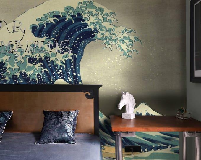 Great Wave off Kanagawa Wallpapers - Japanese  Wallpapers - Asian Wallpaper mural