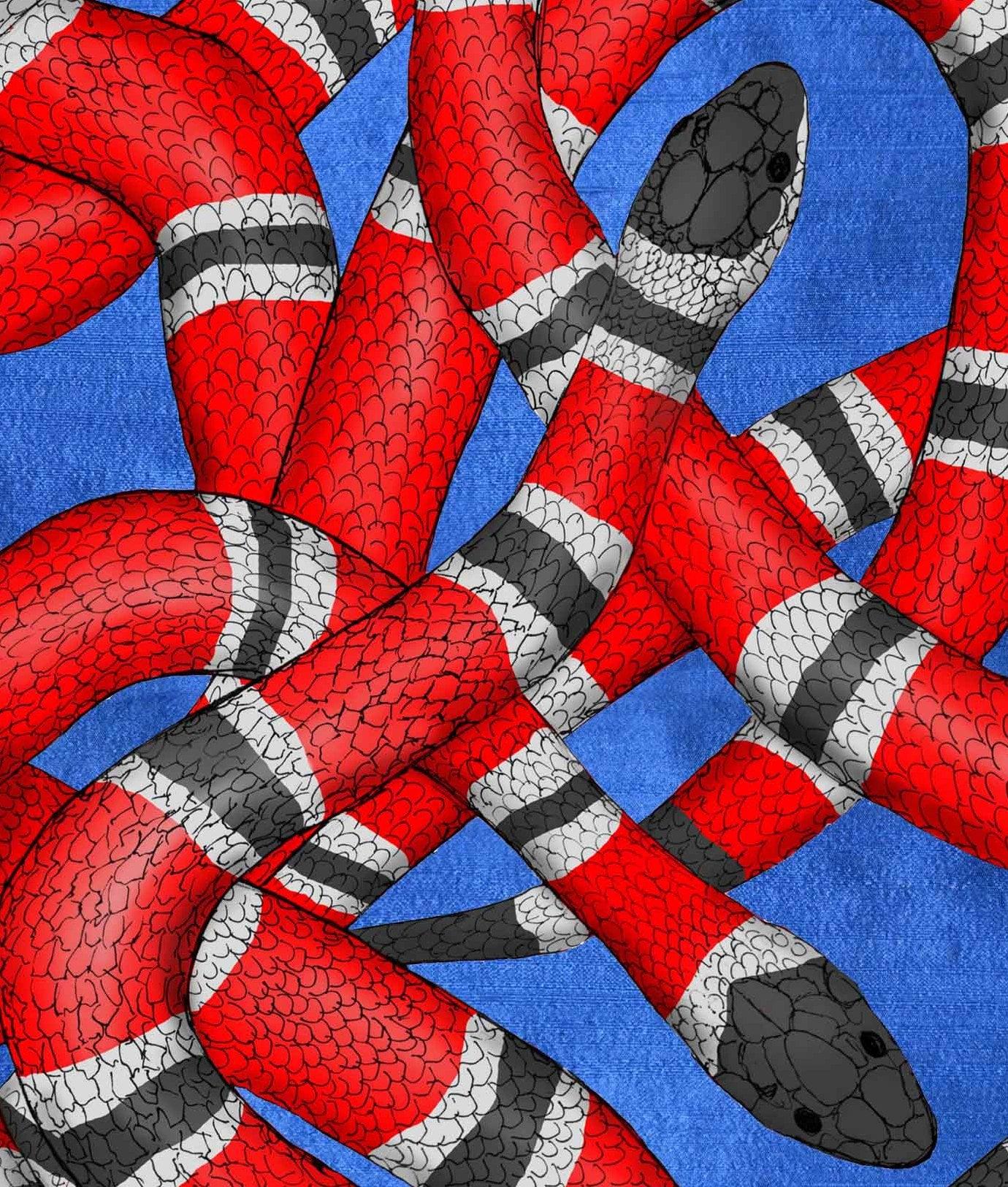 Red Snake Wallpaper, Wallpaper Removable, Removable, Gucci Wallpaper, Wall Paper, Snakes wallpaper, gucci Snakes, Snakes Wallpaper