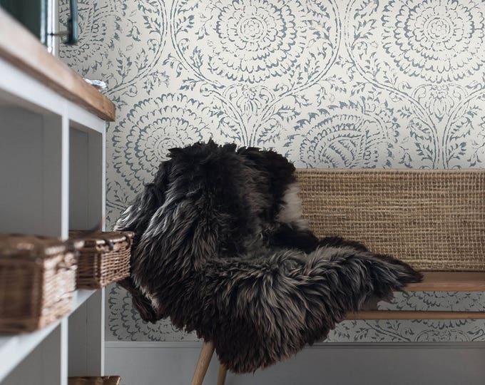 Wallpaper, anthropologie wallpaper, anthropologie, vintage, anthropologie style, removable wallpaper, retro wallpaper, paper, wall art,