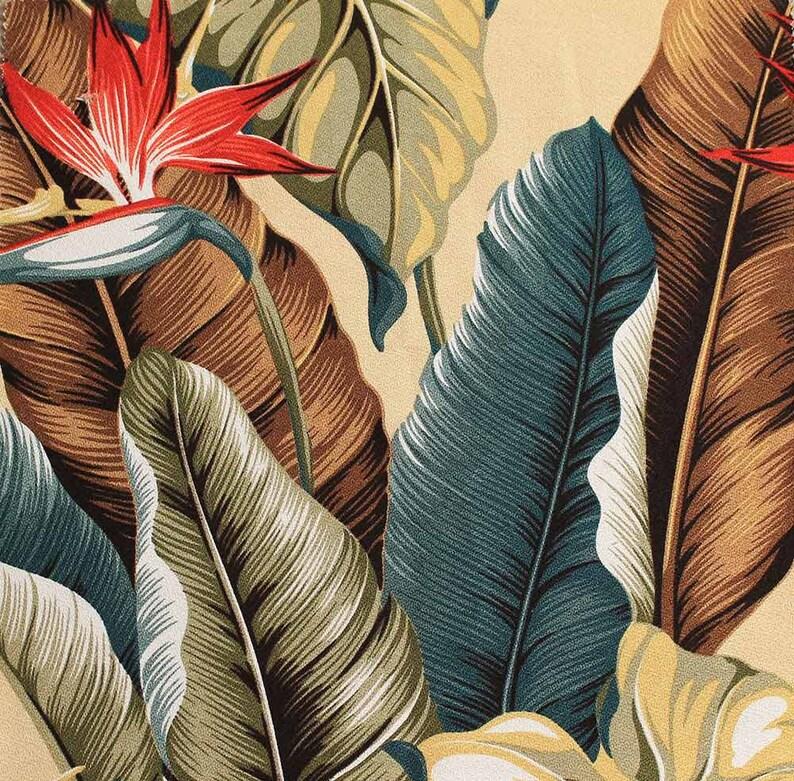 Tropical Vintage Wallpaper Etsy