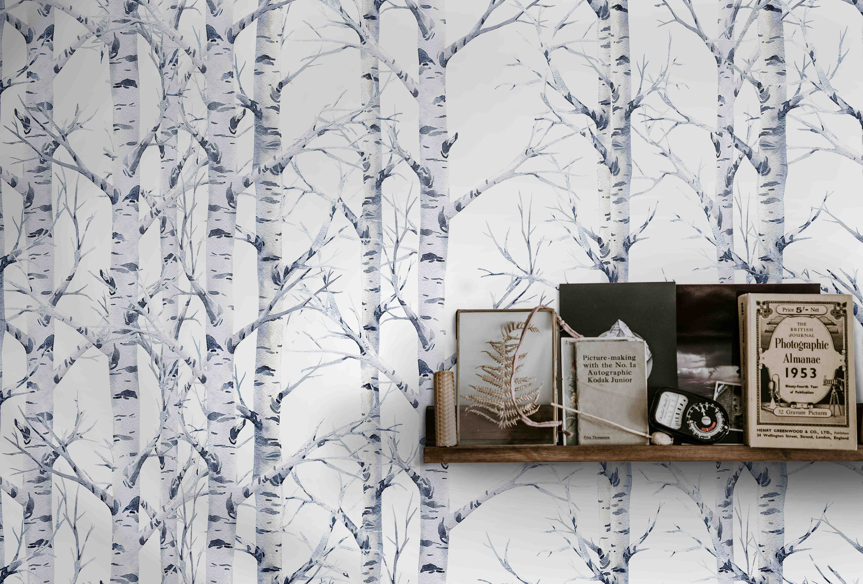 Wood Wallpaper Birch Forest Tree