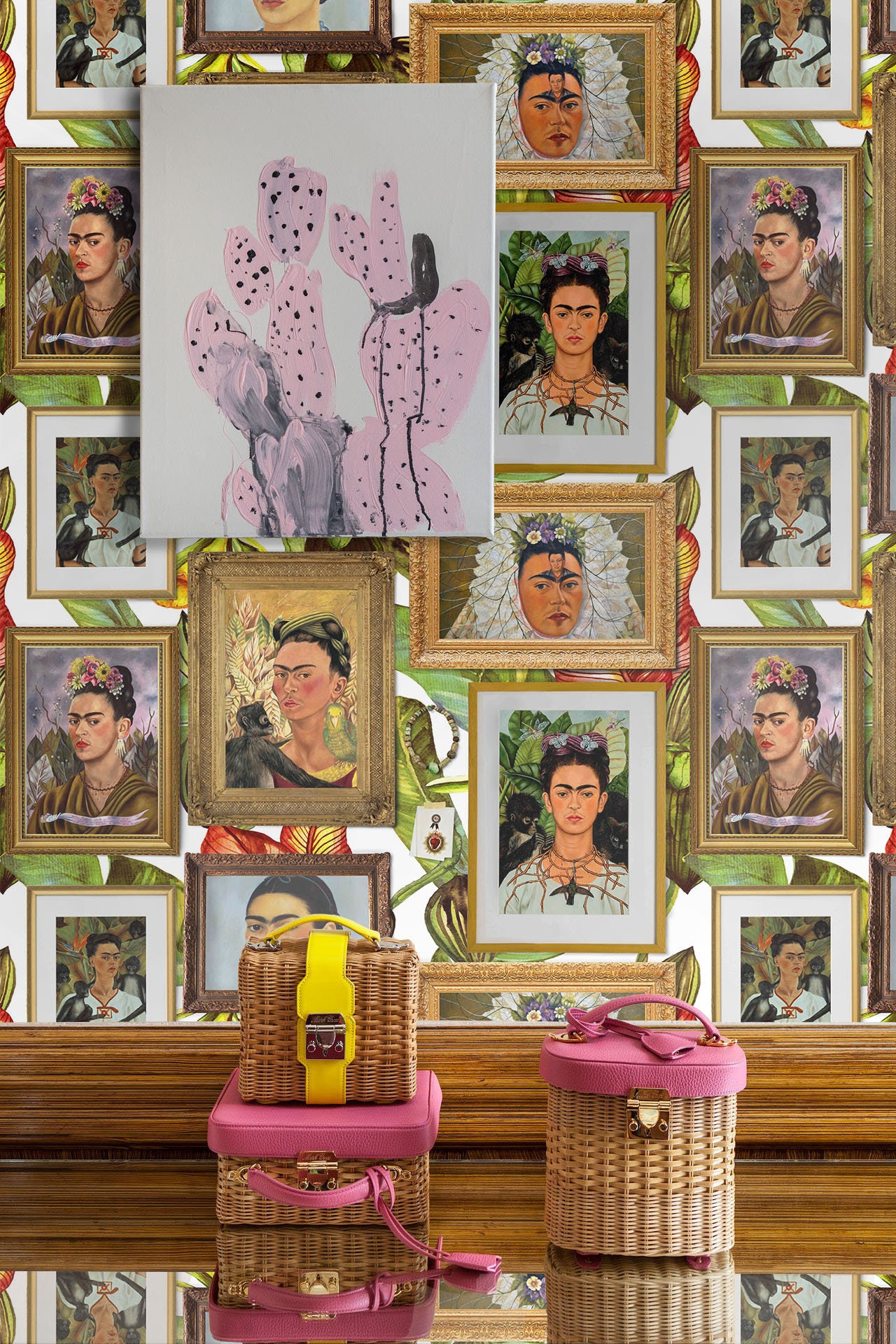 ... frida kahlo wall art. gallery photo ...