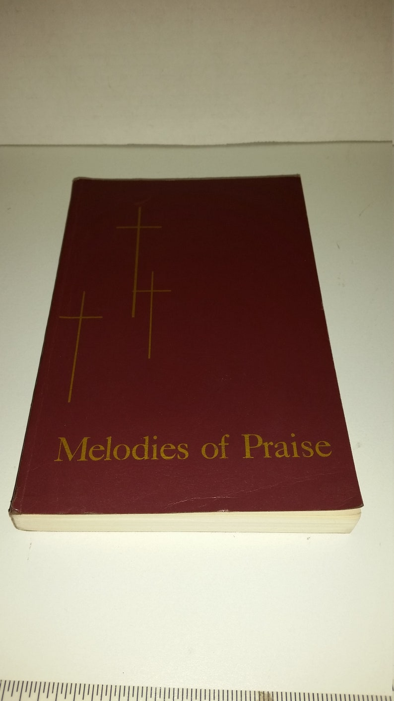Melodies of Praise Song Book / 80s / Paperback / Hymnal / Hymns / Christian  Song Book / Hymn Book / Choir / Choir Book / Praise / Worship