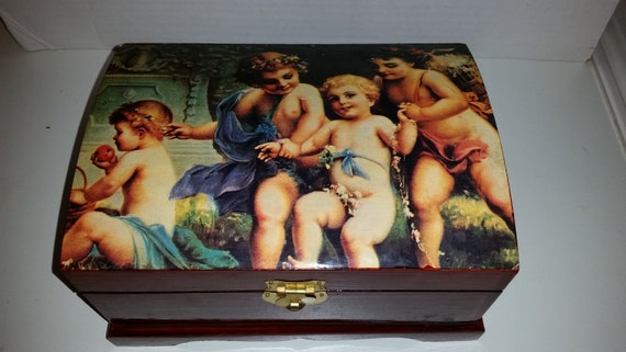 Art Jewelry Box / Art Deco / Painting / Art / Art