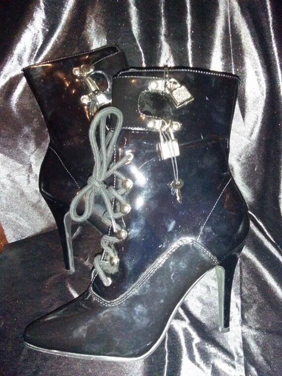 PVC Boots / Fetish Boots / Dominatrix Boots / Erot