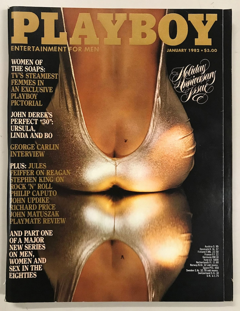 Playboy Jan 1982 Birthday Gift Present Original Vintage Glamour Magazine  Anniversary Issue