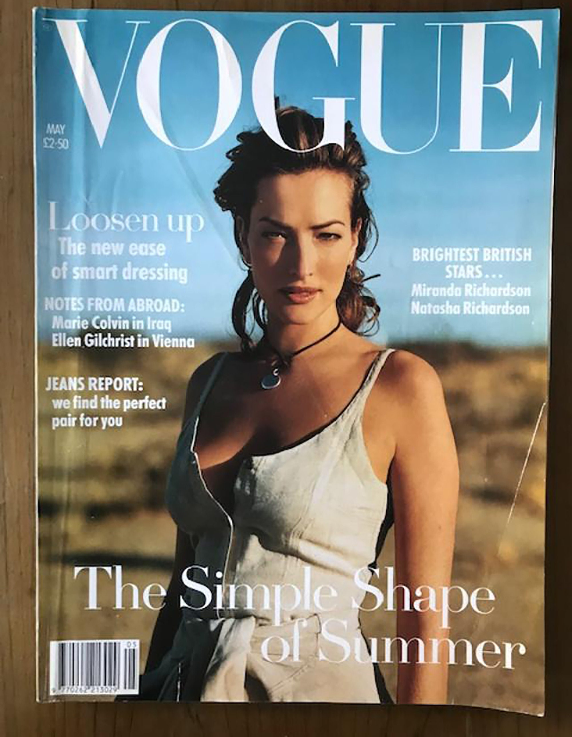Vogue UK May 20 Birthday Gift Present Original British Vintage Fashion  Magazine