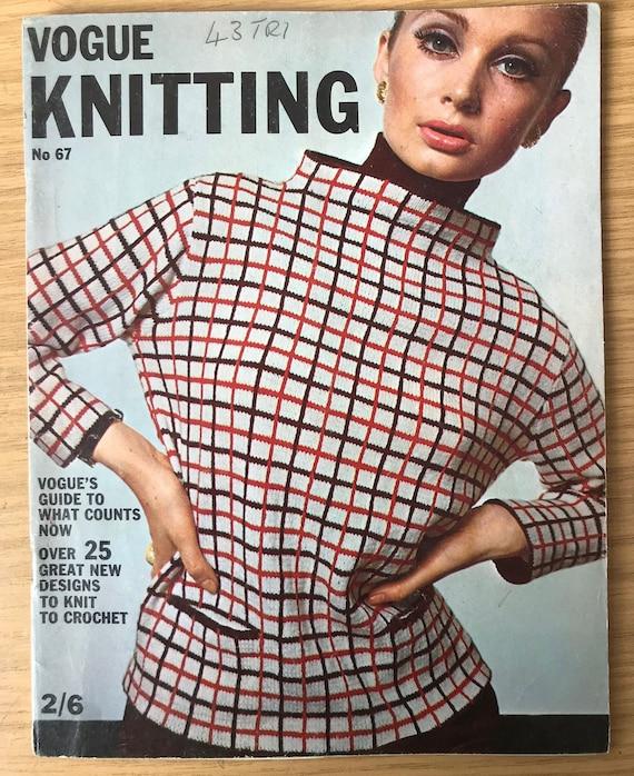 By VOGUE 1965 Vintage KNITTING Pattern V21