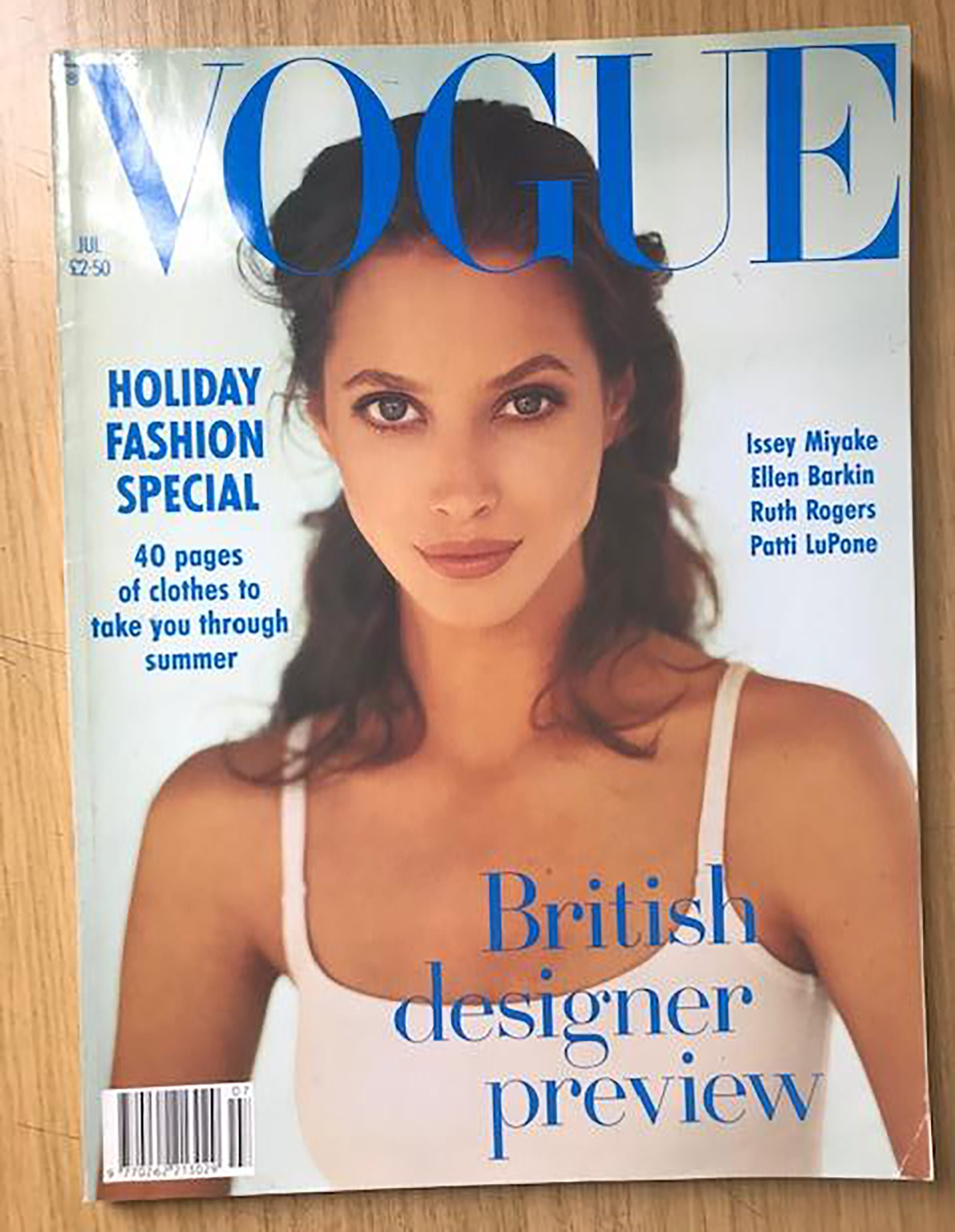 Vogue UK July 20 Birthday Gift Present Original British   Etsy